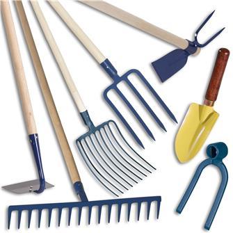 Kit de 7 outils potager pour terre caillouteuse