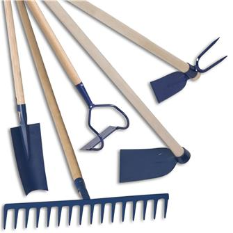 Kit de 7 outils pour les potagers à terre légère sablonneuse