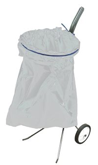 Porte sac poubelle sur roues