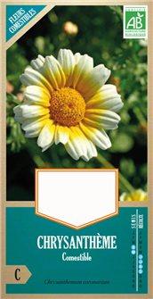 Graines de chrysanthème comestible AB