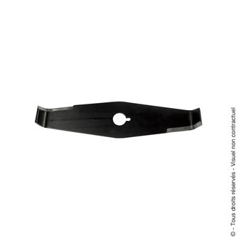 Lame de débroussailleuse 300 mm axe 25,4 mm spécial ronces fabriquée en France