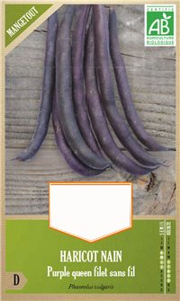 Haricot Purple Queen AB bio