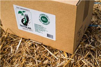 Pack amendement 50 litres pour 5 m² de fleurs jardinières et carrés potager utilisable en Bio