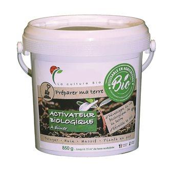 Activateur de sol biologique pour 15 m² de jardin ou 35 pots à diluer ou enfouir