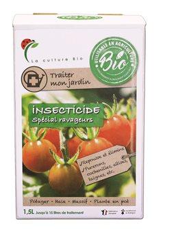 Insecticide naturel de lutte contre pucerons teignes carpocapse et araignées pour 15 l de traitement